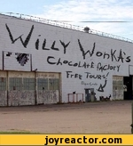 willy wonka's chocolate factory free tours