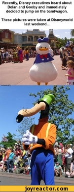Gooby And Dolan Costumes Recently, Di...