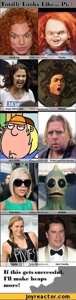 Totally Looks Like...