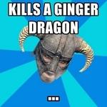 kills a ginger dragon
