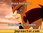 Brace yourselves solar eclipse is coming