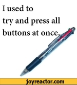 i used to try and press an buttons at once