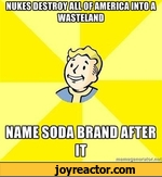 nuke destroy all of america into a wasteland name soda brand after it