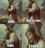 jews what r u doin