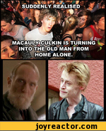 suddenly realised macauly culkin is turning into the old man from home alone