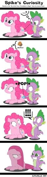 Spike's Curiosity