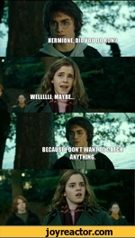 Hermione did you do ron