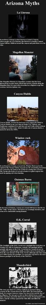 Arizona Myths