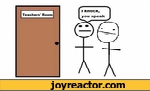 i knock you speak