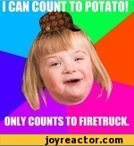 i can count to potato only count to firetruck