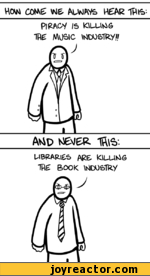 libraries vs piracy