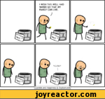 I WISH THIS WELL HAD WATER SO THAT MY FAMILY CAN LIVE.Cyanide and Happiness Explosm.net