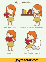 NJeuu BooksSmell itAnd finally, read it