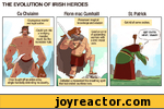 the evolution of irish heroes