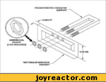 TRICHOTOMETRIC INDICATORSUPPORTAMBIHELICAL % HEXNUT (3.1416 REQUIRED)RECTABULAR EXRUSION BRACKET
