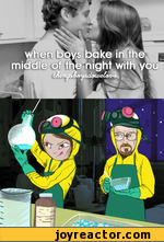 When boys bake