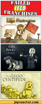 failed lego franchises