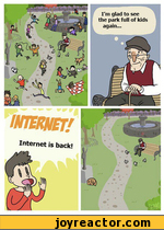 INTERNET!Internet is back!