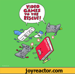 Videogames to the rescue