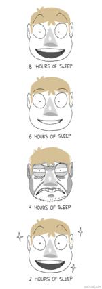 S HOURS OF SLEEP6 HOURS OF SLEEPH HOURS OF SLEEP2 HOURS OF SLEEP