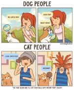 DOG PEOPLE CAT PEOPLE