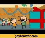 Cyanide & Happiness - Birthday Boy,Comedy,,We're back! The first of many shorts to come this year, thanks to our kickass fans who backed us on Kickstarter.Subscribe to Explosm! - http://bit.ly/13xgq7aRead Our Comics! - http://www.explosm.netFind us on Facebook:
